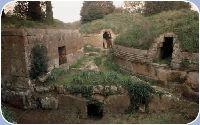 La necropoli etrusca di Tarquinia
